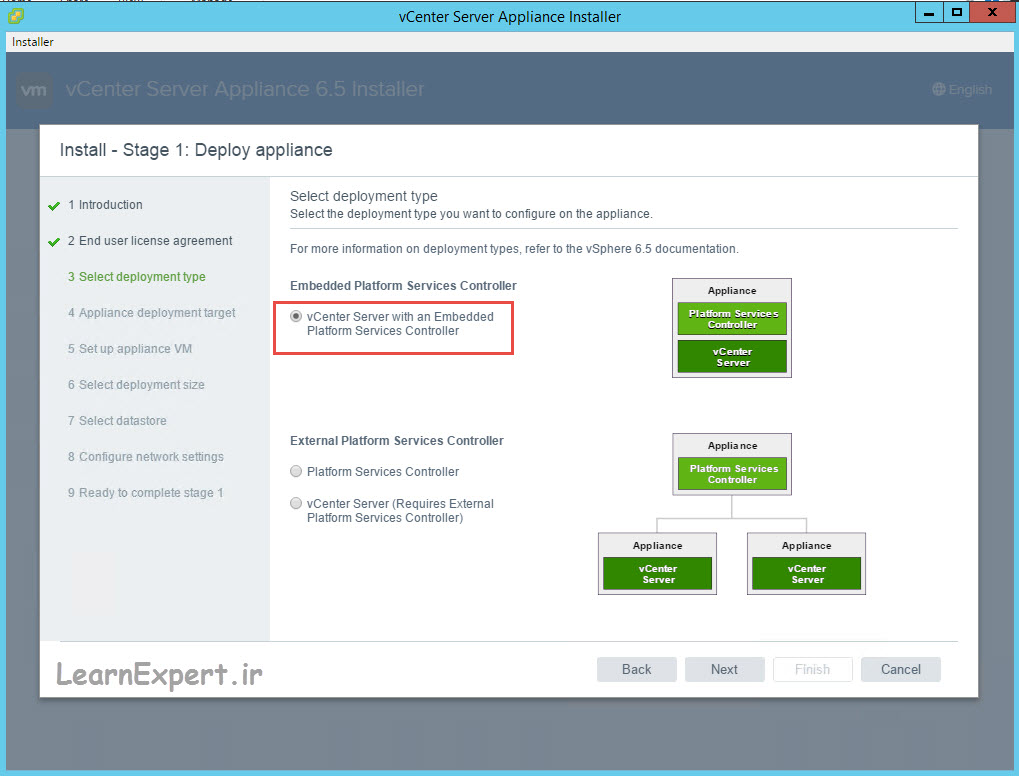 vcenter 6.5 installation 8