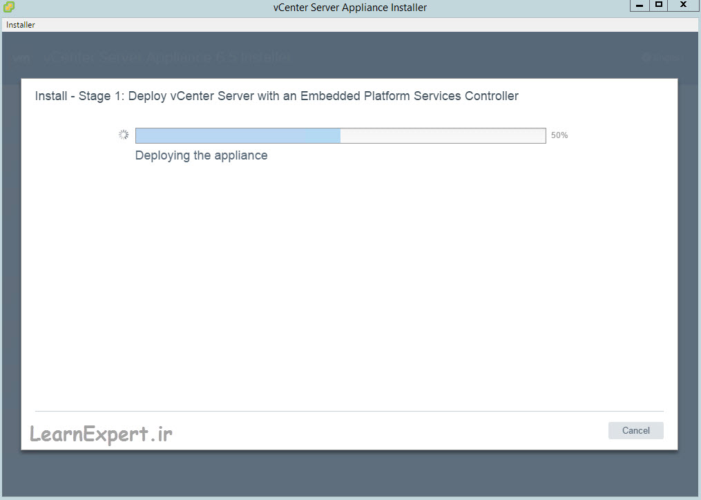 vcenter 6.5 installation 17