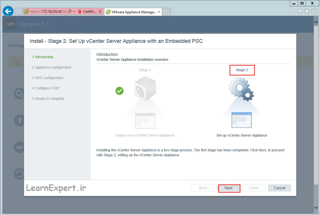 vcenter 6.5 installation 30