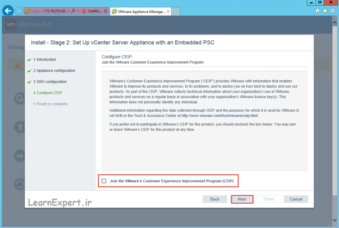 vcenter 6.5 installation 33